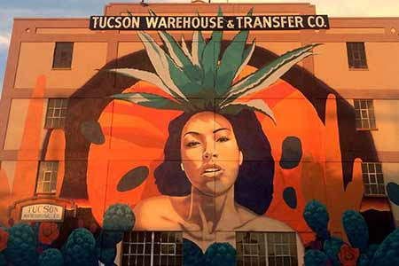 Agave Lady Mural