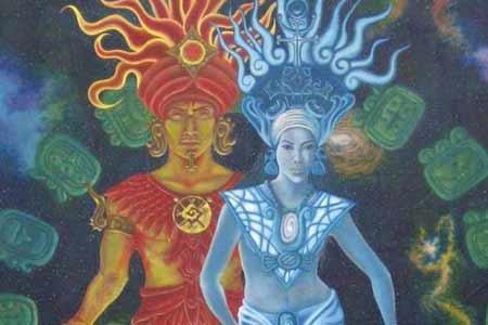 Celestial Couple Mural