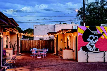 The Downtown Clifton is accommodations for art lovers in Tucson