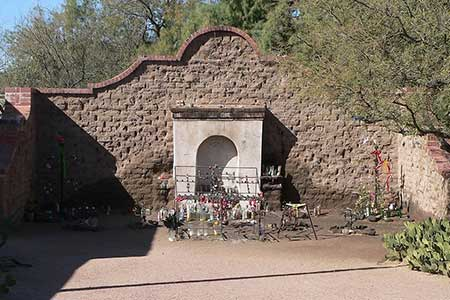 Wishes come true at El Tiradito Wishing Shrine