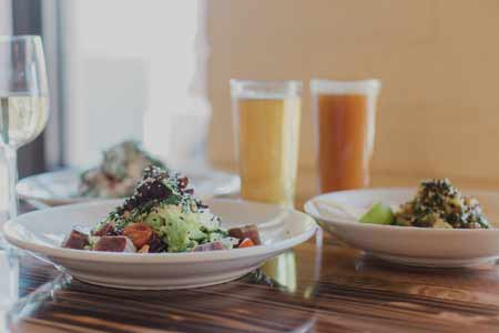 Grassroots Kitchen and Tap features southern-style comfort food.