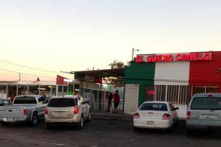 El Guero Canelo for authentic Mexican food