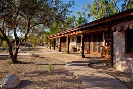 El Rancho Merlita is Merle Norman's home turned hotel