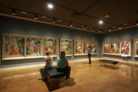 UofA Museum of Art on campus in Tucson Arizona