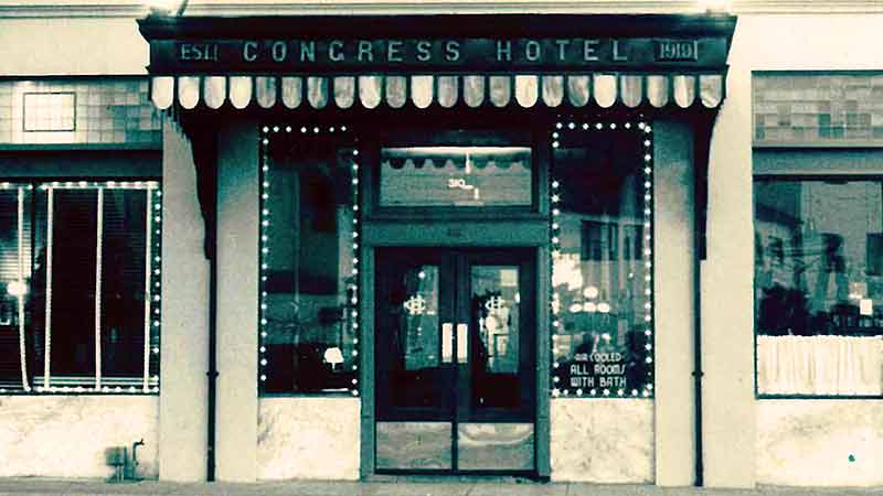 vintage hotel congress picture