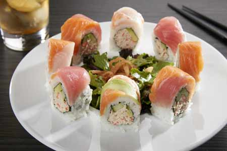 RA Sushi has two locations in Scottsdale
