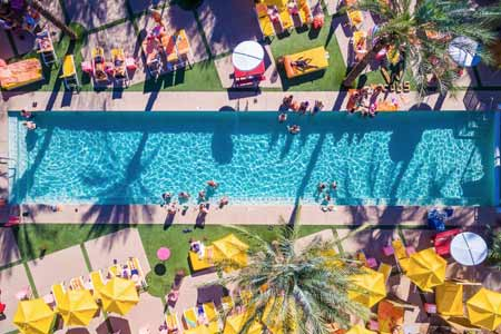 The Saguaro Scottsdale is bright, fun and upscale.