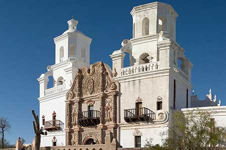 San Xavier Mission takes you back in time