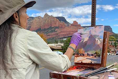 Visit the Sedona Art Center