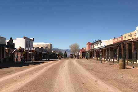 Tombstone is Wild West fun.