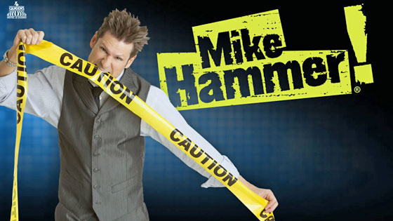 Mike Hammer in Vegas makes you laugh at his antics