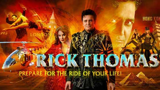 Rick Thomas brings his Las Vegas magic show to Branson