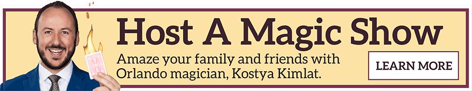 Kostya Kimlat: Orlando magician