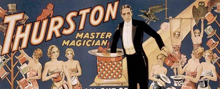 Thurston magic poster