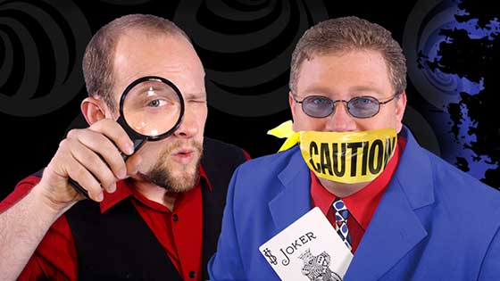 Chris and Eric's new show, Impossibilities: Magic, Mindreading & Mayhem!