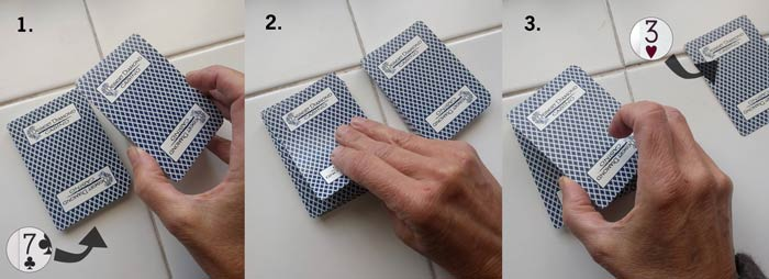 Sequence of cards in trick