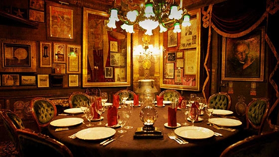 The Magic Castle in Hollywood has multiple performances every night of the week.