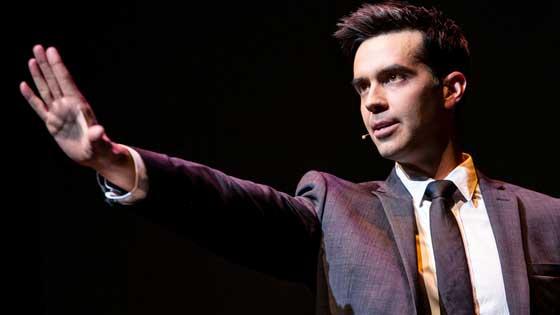 Michael Carbonaro performs in New York