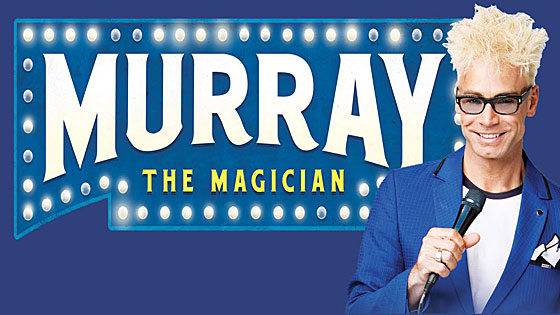 Murray Sawchuch performs magic in Vegas