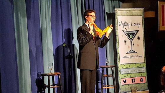 Mystery Lounge, Boston areas original magic cabaret