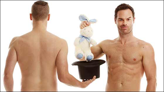 The Naked Magicians are coming to Las Vegas... no pun intended.