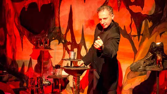 Two shows from Richard Leigh, The Magic Cavern and The Fun Fair at the Magic Cavern