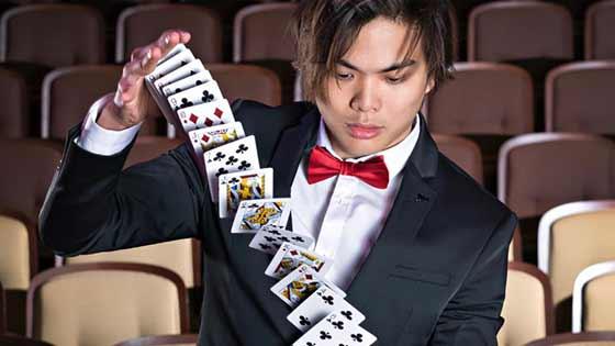 Shin Lim brings his card tricks to Las Vegas