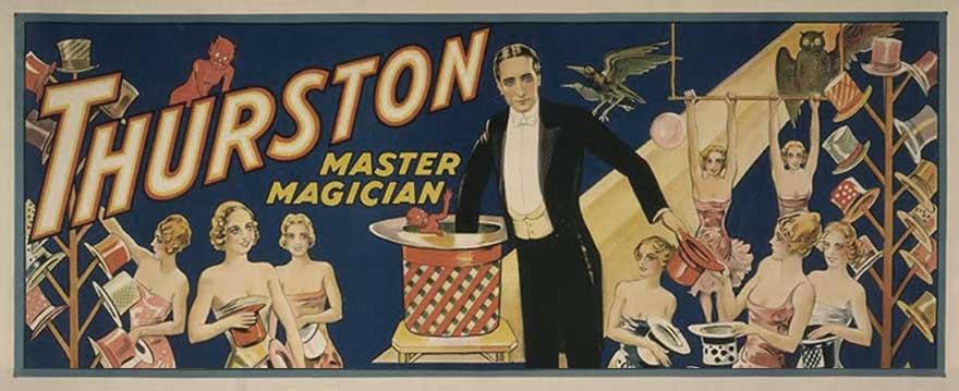 magician Thurston poster
