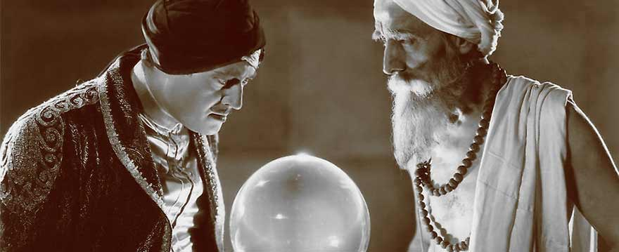 looking into a crystal ball is not the answer to seeing your audience