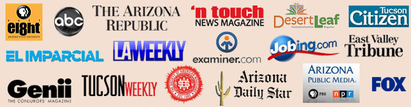 Recent Press for Magic shows and magicians in Phoenix and Tucson Arizona.