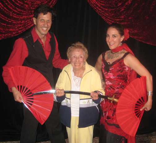 Bernice's 87th Birthday Party at Carnival of Illusion