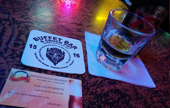 The Buffet bar is a Tucson classic dive bar for those who like things interesting.