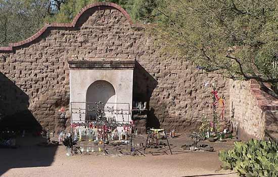 El Tiradito is a unique Tucson attraction