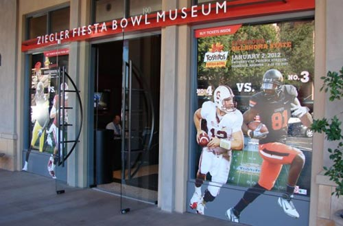 Don't forget the Scottsdale Fiesta Bowl for sports and big events.
