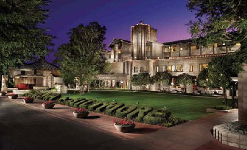 Arizona Biltmore Resort as Parlour for Carnival of Illusion