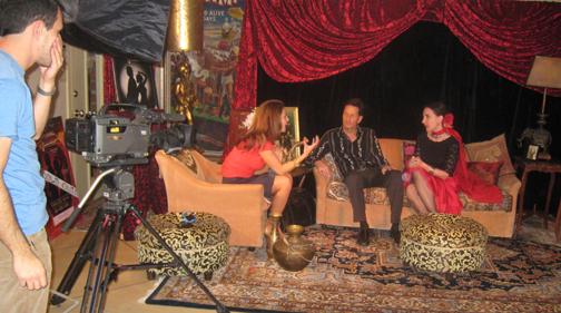 TV interview on Tucson Treasures