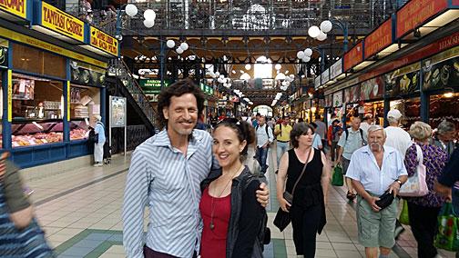 Budapest main market