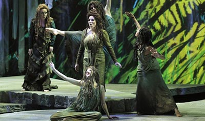 Arizona Opera with undersea costumes and staging