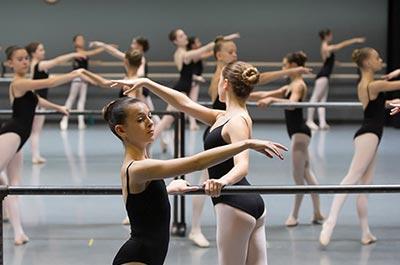 Ballet Arizona students