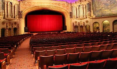 Orpheum Theatre is a gorgeous restored turn of the century downtown Phoenix theater